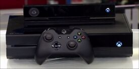 Xbox One with Kinect and 4 games