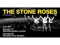 Stone Roses Hampden Park Standing Tickets for Saturday 24th June 2017