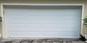 16x7 Garage door (white)