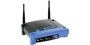Linksys WRT-54GL Wireless Router!