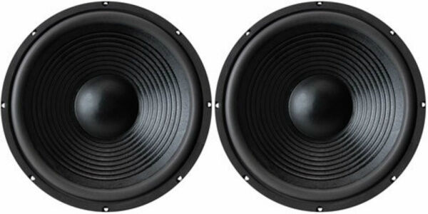 "NEW 15"" (2) Subwoofer Replacement Speakers.8 ohm Home Audio woofers.Bass Pair"