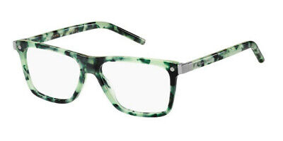 New Marc Jacobs 21 U1S 53mm Green Havana Unisex Rx Ophthalmic Eyeglasses Frame