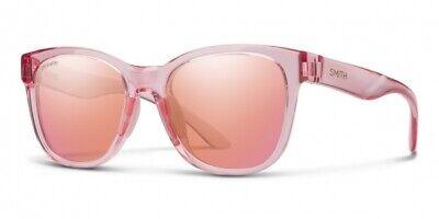Smith Caper Pink Crystal Contrast Rose Flash ChromaPop 35J XA (Cheap Smith Sunglasses)