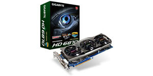 GIGABYTE Radeon HD 6870 Windforce 915MHZ 1GB (x2)