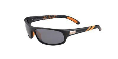 Bolle Anaconda Sunglasses - 12201 - Matte Black w/ TNS Zeiss P7490 (Bolle Sunglasses Lenses)