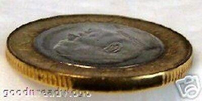 POPE JOHN PAUL II VATICAN 1997 BIMETALLIC 1000 L COIN Uncirculated ... 246422891dc7