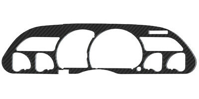 014 Gauge - Real Carbon Fiber Gauge Instrument Cluster Bezel For 1993-1996 Chevy Camaro SS