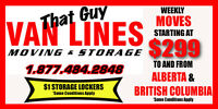 EMPTY TRUCKS to KELOWNA OR AB - STARTS AT $499 ONLY