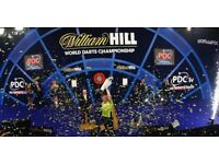 William Hill World Darts Championship 2017/18 - 1x Preliminary & 3x First Round