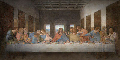 The Last Supper Leonardo Da Vinci Museum Art Print