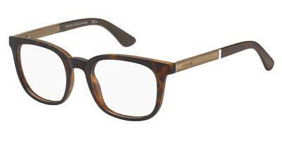 NEW Tommy Hilfiger TH1477 N9P 21 50mm Brown Havana Optical Eyeglasses (Tommy Hilfiger Frames)