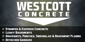 Driveways By Westcott Concrete *NEW FALL SPECIAL* Windsor Region Ontario image 1