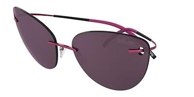 Silhouette 8154 6223 Sunglasses Titan Minimal Art THE ICON Rose Pink