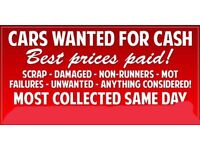 Cars wanted