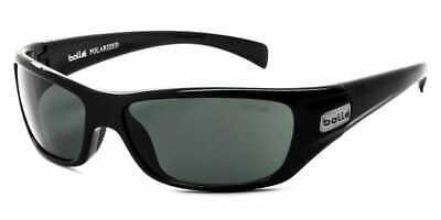 Bolle Copperhead Sunglasses - 11227 - Shiny Black Frame w/ Polarized TNS (Bolle Sunglasses Lenses)