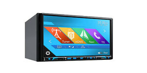 """Clarion NX706  7"""" Double Din DVD With Built-In Navigation GPS"""