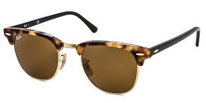 Ray Ban Fleck clubmaster havana brown sunglasses