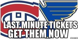 2 HRS TILL★★Montreal Canadiens v St. Louis Blues WED Oct 17 ★★