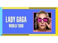 2 x Lady Gaga standing tickets o2 Arena London Wednesday 11th October