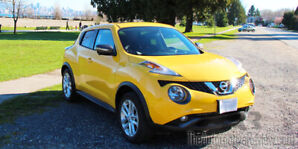 Low mileage 2015 Nissan Juke SL for sale by owner