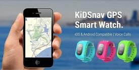 Track you child with the KiDSnav GPS Smart Watch!