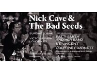 Sale Pending: 2 x Nick Cave & The Bad Seeds APE Tickets