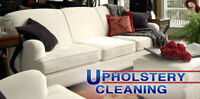 Upholstery cleaning as low as $39 Call or text to book