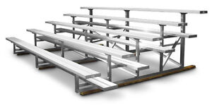 Looking for BLEACHERS to replace our old ones.