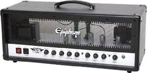 FS/T Made in USA 50/25 Watt ALL TUBE head Great Cleans and Gain Peterborough Peterborough Area image 2