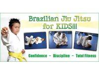 Kids Brazilian Jiu Jitsu, Mixed Matial arts, Self defence, BJJ in North London