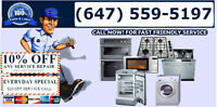 Appliance Repair / 24hr - 7 Days A Week
