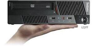 Lenovo Core i5 3.20Ghz Quad CPU 4GB DDR3 WIN 7 Ultra Small PC