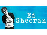 Ed Sheeran × 2 standing Manchester Sunday 27/05/2018