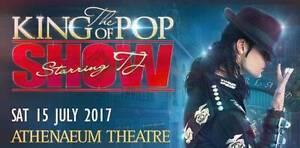 The King Of Pop Show | Athenaeum Theatre Melbourne Melbourne CBD Melbourne City Preview