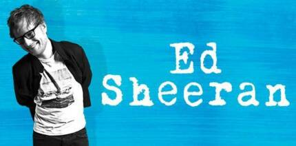 ED SHEERAN BRISBANE CONCERT TICKET B RESERVE WEDNESDAY 21ST MARCH