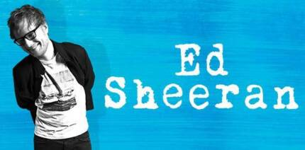 LAST 2 TICKETS - Ed Sheeran GA Standing FRONT - Brisbane 21 March 2018