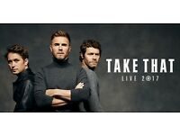 Take that 4x tickets for sale