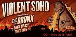 Violent Soho - Sydney - Sat, 29 October 16 - Hordern Pavilion Sydney City Inner Sydney Preview