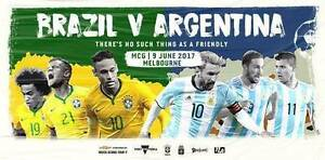 Brazil v Argentina GOLD Tickets x4 - Hard Copies or Electronic Prestons Liverpool Area Preview