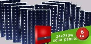 Solar Panel System - 6kW System For Only $3,499 Fully Installed Armadale Armadale Area Preview