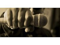 Rappers / spoken word artists & musicians wanted