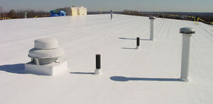 ROOFER - 514-549-3350 SHINGLES - WHITE FLAT ROOF - REPAIRS