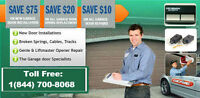 FAST FRIENDLY AND LOWEST PRICE *GARAGE DOOR REPAIR*