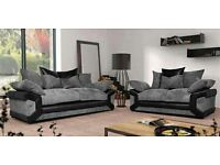***FREE POUFFE**WITH 3&2 Seater sofa set