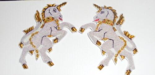 Medieval Heraldry Unicorn Mythology Folklore Symbol Crest Costume Cape Patch
