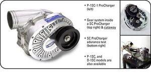 ATI Procharger D-1SC Supercharger Head Unit Satin Finish Street Drag Race Blower