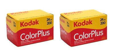 2 x rolls KODAK COLORPLUS 200 35mm Film 24exp CAMERA LOMOGRAPHY (UK Stock) BNIB