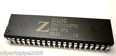 1pcs Z84c0020pec Z84c0020 Nmoscmos Z80 Cpu Central Processing Unit Dip-40