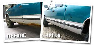 Auto body rust repair