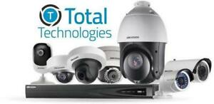 Limited time Promo : 4 Camera Kit 699 $ ||  CCTV Security Camera,Alarm system, Card access , Intercom